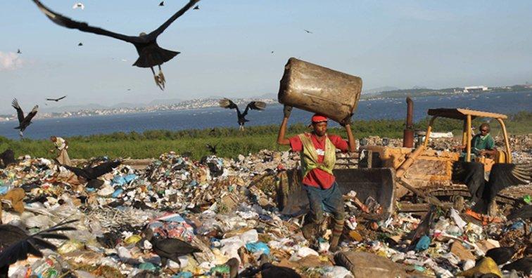 América Latina es un continente cubierto de basura de arriba a abajo