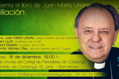 """Uriarte presenta su libro """"La reconciliación"""" (Sal Terrae) en Barcelona"""