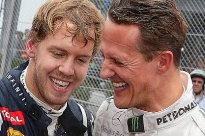 Los mensajes de los pilotos a Schumacher