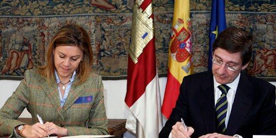 Bankia y C-LM firman convenio para sufragar becas de FP Dual