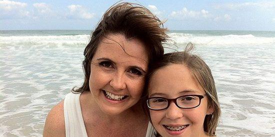 La conmovedora carta que una niña se escribió para el futuro antes de morir