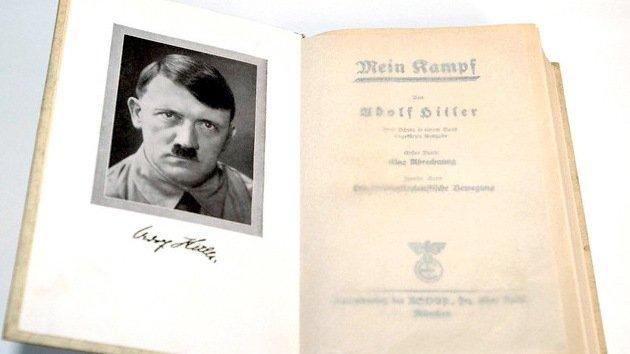 El 'Mein Kampf' de Hitler puede desbancar a '50 sombras de Grey' como 'e-book'