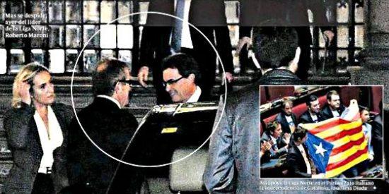 Artur Mas, la opacidad y la Liga Norte