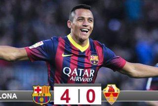 El Barça recupera el liderato de Liga con Alexis en plan 'jugadorazo'