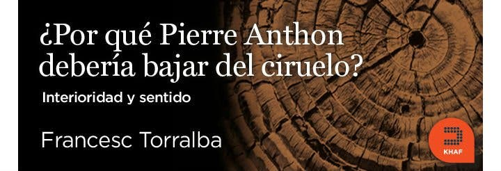 ¿Por qué Pierre Anthon debería bajarse del ciruelo?