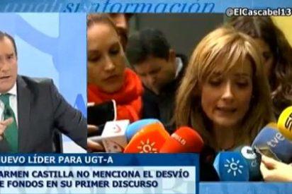 """Antonio Jiménez a la nueva líder de UGT-A: """"¡Ustedes se lo han llevado calentito y han mangado a mansalva!"""""""
