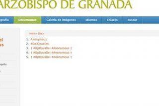 #Anonymous hackea la página web del Arzobispado de Granada