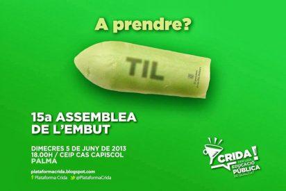 """La Asamblea de Docentes: """"Cualquier agresión será responsabilidad del PP"""""""