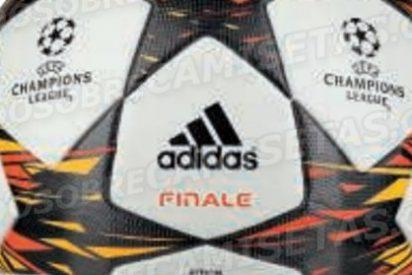 Así será el balón de la final de la Champions de 2014/2015