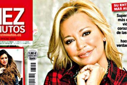 """Belén Esteban contra la revista 'Diez Minutos': """"Todo por la pasta"""""""