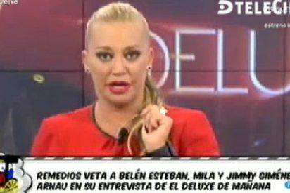 """Belén Esteban se cabrea con 'Lecturas' e afirma que la Campanario tiene """"cara de cerda"""""""
