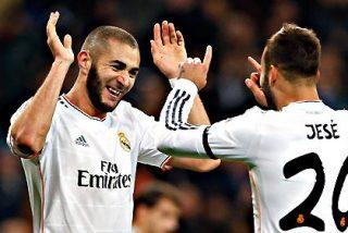 Jesé y Bale, con doble 'ayudita' de Cristiano Ronaldo, arreglan al Real Madrid