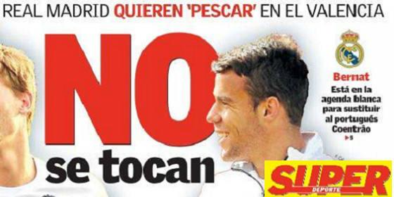 El Madrid le echa el ojo a Bernat