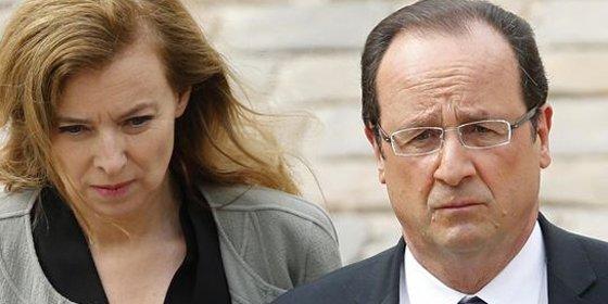 El presidente Hollande remata los cuernos de Trierweiler con un comunicado bomba