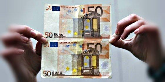 El tipo que vivía como un marqués con los billetes de 50 y 20 euros que 'fabricaba' en casa