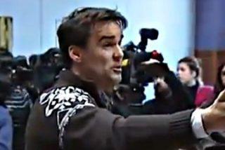 """""""Tenemos las cámaras delante... ¿No teneis hombría para pedir perdón a las víctimas?"""""""