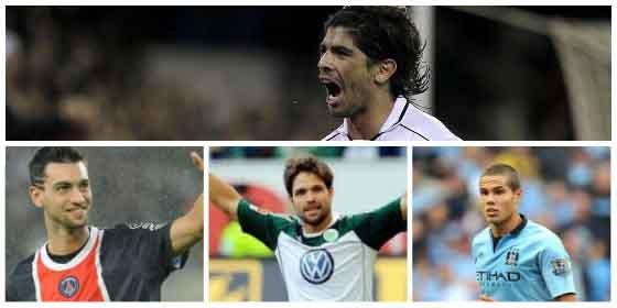Las cuatro opciones para el centro del campo del Atlético
