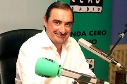 """Carlos Herrera justifica el 'tuitazo' de Interior: """"Es un error humano cometido por buenos servidores públicos"""""""