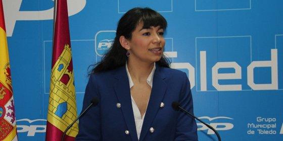 """Claudia Alonso:""""Los toledanos somos los últimos en las prioridades de Page"""""""