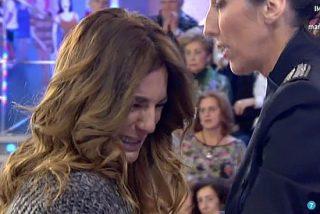 Raquel Bollo sufre un, poco creíble, ataque de dolor: