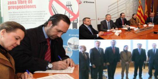 Bauzá olvida su color político y rechaza las 'negras' prospecciones petrolíferas en Ibiza