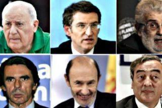 Pedrojota Ramírez se 'autoflagela' en su lista de los 100 españoles más influyentes