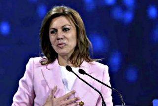 """María Dolores de Cospedal llama a la unidad interna: """"En la defensa de España, el PP o la nada"""""""