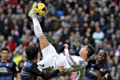Cristiano Ronaldo se va a la cama con el Real Madrid como líder 'provisional' de la Liga