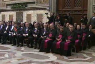 """El Papa denuncia ante el Cuerpo diplomático que """"seres humanos son descartados como cosas no necesarias"""""""