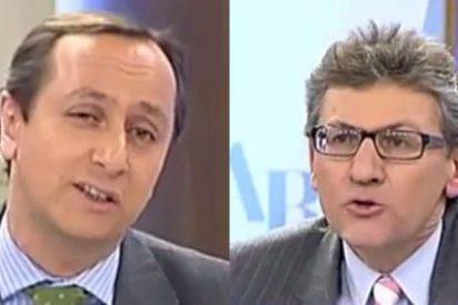"""Carlos Cuesta le tapa la boca al 'listillo económico' de Usoz: """"Pero, ¿tú sabes lo que es una balanza fiscal? ¡Venga, que me quiero reír!"""""""