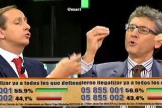 Carlos Cuesta le canta las cuarenta al periodista que le interesaba más el Osasuna que la marcha proetarra