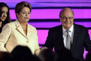 """Blatter, contundente con la organización del Mundial: """"Brasil está más atrasado que Sudáfrica"""""""