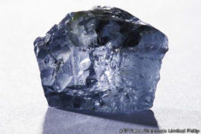 El extraño y deslumbrante diamante azul encontrado en Sudáfrica vale algo más que un Potosí