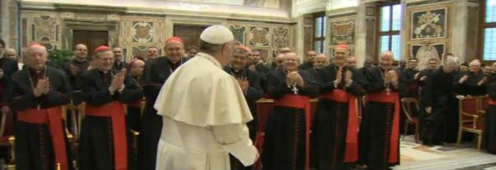 """El Papa pide a la Congregación de la ortodoxia que se rija por """"la praxis de la colegialidad y del diálogo"""""""