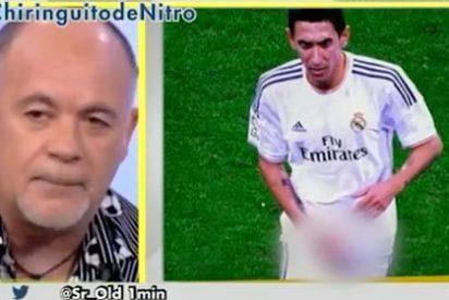"""Alfredo Duro exige exaltado mano dura contra Di María: """"Espero que le echen. Con Bernabéu ya estaría fuera del Madrid, ¡a la calle!"""""""