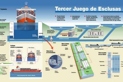 Sacyr y su consorcio siguen las obras del Canal de Panamá pese a expirar su ultimátum