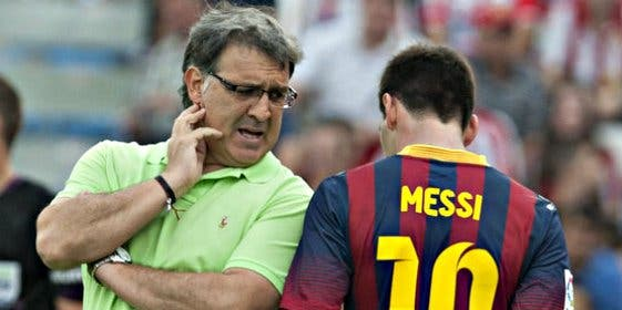 "Tata Martino: ""No perdamos de vista que Leo Messi lleva 60 días parado"""