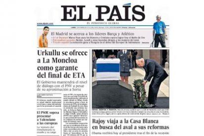 El 'antipepero' El Periódico se vuelca con el viaje de Rajoy a Obama