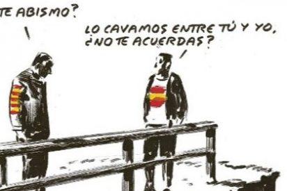"""Arcadi Espada sacude a El Roto por su """"putrefacta equidistancia"""" con la locura separatista"""