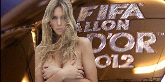 Los 'melones' de Fernanada Lima la convierten en la otra estrella del Balón de Oro