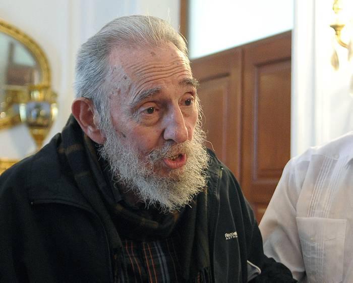 Y a los nueve meses... Fidel Castro reapareció vivito y coleando