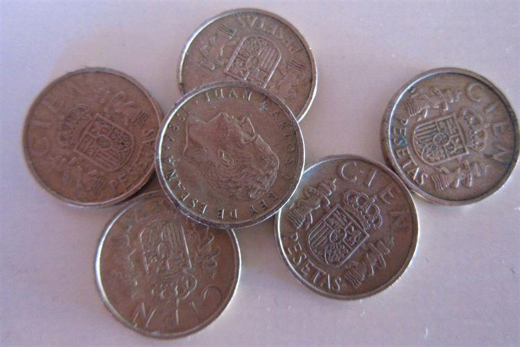 Los españoles aún guardamos en la hucha 1.676 millones de euros en pesetas
