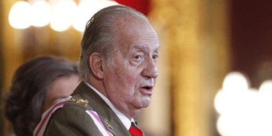 """El Rey pide a los militares que sigan trabajando """"unidos por el bienestar de los españoles"""""""