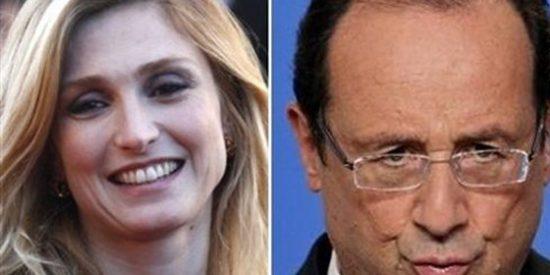 La actriz Julie Gayet se encabrona y demandará a la revista que aireó su 'affaire' con Hollande