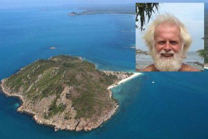 Al multimillonario que se arruinó y que vive en una isla desierta lo pueden desahuciar