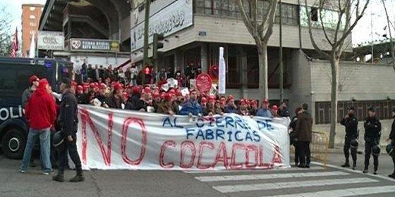 Los trabajadores de Coca-Cola advierten que el ERE está dañando la marca de la empresa