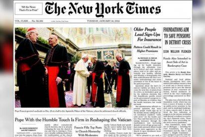 El New York Times lleva a portada las reformas de Francisco