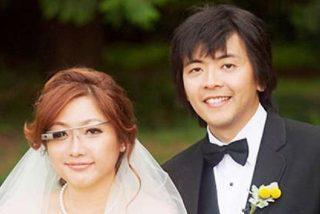 Una novia se queda con todo el personal al grabar su boda con Google Glass
