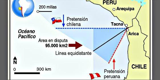 El Tribunal de Justicia de la ONU dicta una sentencia salomónica en la disputa fronteriza entre Chile y Perú