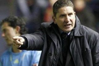 Garrido se muestra molesto con el Betis